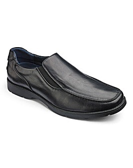 Cushion Walk Casual Slip On Shoes Wide