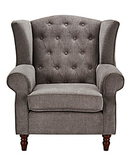 Chester Buttonback Wing Chair