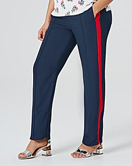 Side Stripe Pull On Trouser Reg