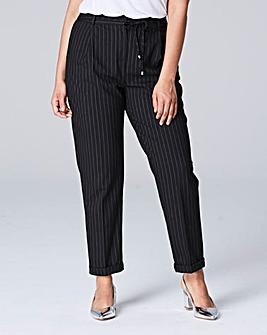 PVL Pinstripe Turn Up Trouser Regular