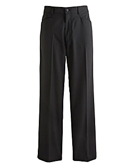 Jacamo Pinstripe 5Pocket Trouser 29In