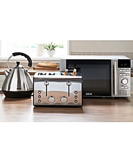 Akai Stainless Steel Triple Kitchen Pack