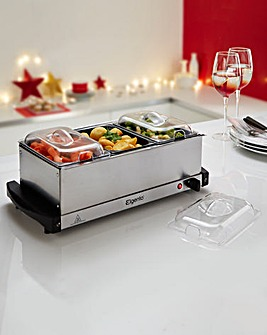 Elgento Buffet Server and Hotplate