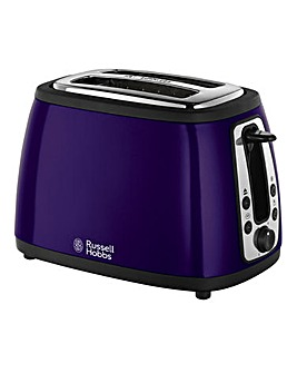 Russell Hobbs Purple 2 Slice Toaster