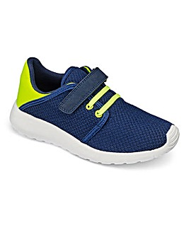 TKD Luca Touch and Close Trainers F Fit