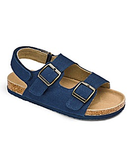 Joe Browns Navy Footbed Sandals
