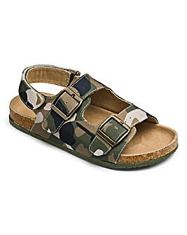 Joe Browns Camo Footbed Sandals