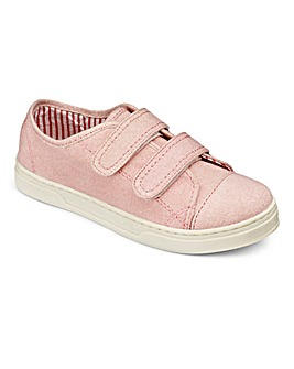 Amber Girls Touch and Close Shoes F Fit