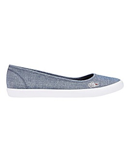 Lacoste Marthe Lin Slip-On Pumps