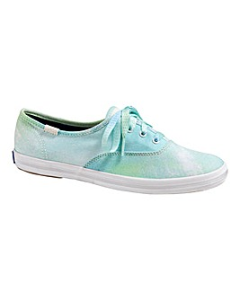 Keds Spray Paint Trainers
