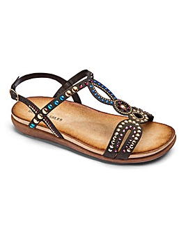 Heavenly Soles Sandals EEE Fit