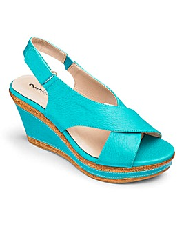 Cushion Walk Wedge Sandals EEE Fit