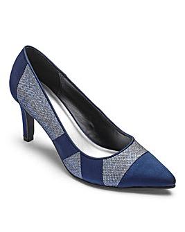 Heavenly Soles Court Shoes EEE Fit