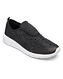 Be Active Premium Jewel Trainers E Fit