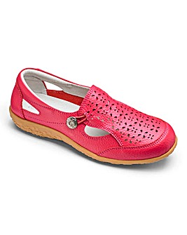 Cushion Walk Slip On Shoes D Fit