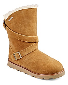 Bearpaw Waterproof Suede Mid Boots D Fit