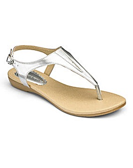 Heavenly Soles Toe Post Sandals E Fit