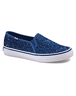 Keds Double Decker Glitter Trainers