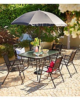 Milan 8-Piece Garden Furniture Set