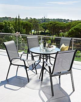 Monaco 5-Piece Garden Furniture Set
