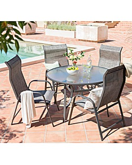 Vienna XL 5-Piece Garden Furniture Set
