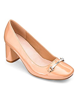 Heavenly Soles Trim Court Shoe E Fit