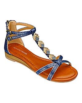 Heavenly Soles Trim Sandals E Fit