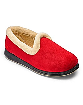 Padders Warm Lined Slipper E/EE