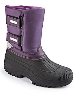 Cushion Walk Winter Snow Boots E Fit