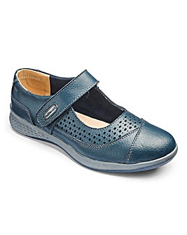 Cushion Walk Leather Shoes D Fit