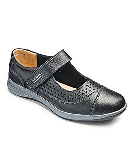 Cushion Walk Leather Shoes E Fit