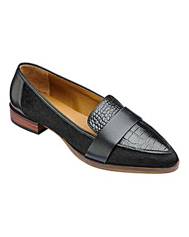 Lorraine Kelly Leather Loafers D Fit