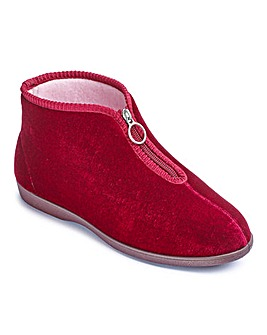 The Shoe Tailor Bootie Slippers E Fit