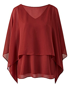 Joanna Hope Double Layer Blouse