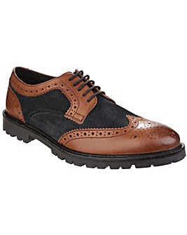 Base London Conflict Lace up Brogue Shoe