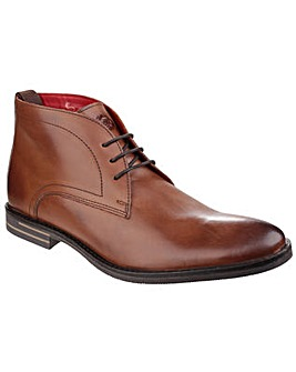 Base London Dore Leather Lace up