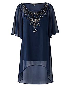 Joanna Hope Lace Detail Tunic