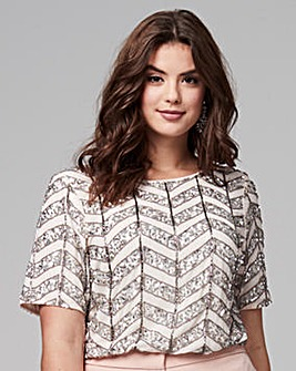 Joanna Hope Beaded Blouse