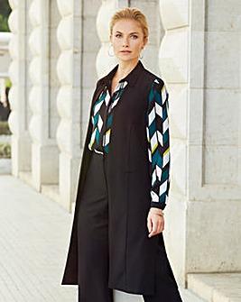 Joanna Hope Sleeveless Duster Waistcoat