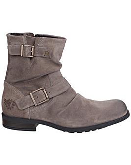 Base London Metal Zip up Boot