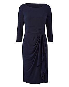 Joanna Hope Side Drape Dress