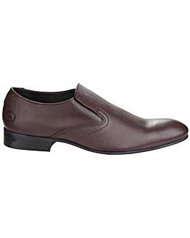 Base London Capital Leather Slip on