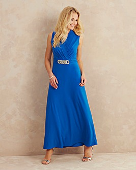 Joanna Hope Chain Trim Maxi Dress