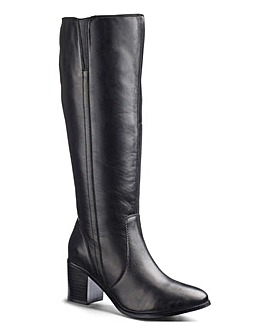 Heavenly Soles Boots E Curvy Calf