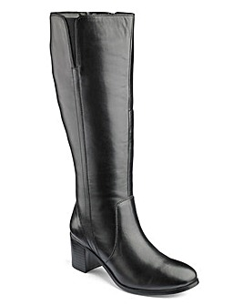 Heavenly Sole Boots EEE Super Curvy Calf