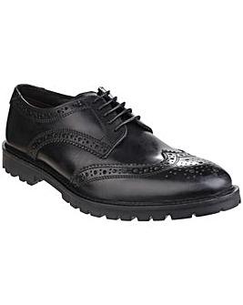 Base London Trench Lace up Brogue Shoe
