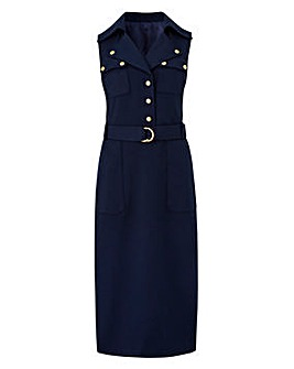 Joanna Hope Military Style Dress
