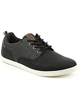 Jack Jones Contrast Lace Up Trainer