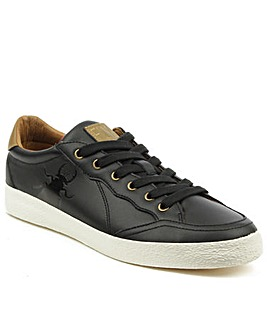 Fly London Black Lace Up Trainer