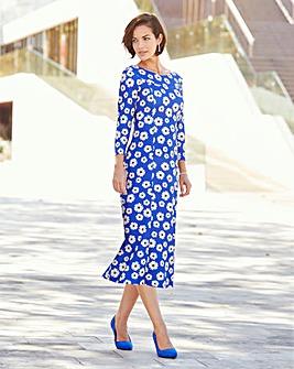 Joanna Hope Daisy Print Dress